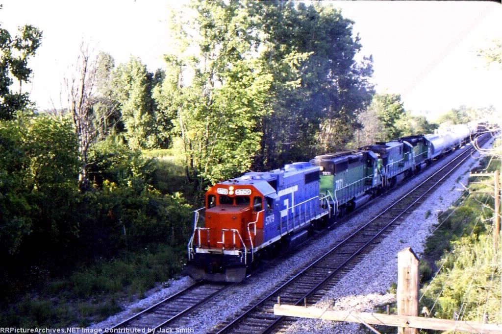 GTW 5709 & BN engines