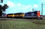 GTW 4706, CNW 809 & 804, GTW 4704