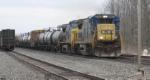 CSX WB Freight
