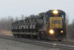 CSX Dimensional Load Train