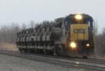 CSX Dimensional Load Train
