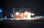 Durand Depot Night Shot mid 80's
