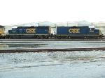 CSX 6917 & 2220