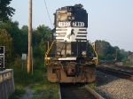 NS GM/EMD GP50 7003 Sits near the General Motors/Ford Plant