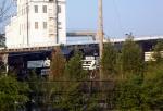 NS GM/EMD GP38-2 5043 Sits near the General Motors/Ford Plant