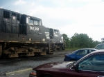 NS GE CW40-9s 9228 and 9260 Idle at the NS Engine Facility