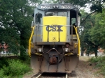 CSX Yellow Nose Gray Painted GE C40-8 7588