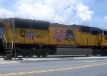 UP GM/EMD SD70M 4830 Idles at CSXs Hulsey Intermodal Yard