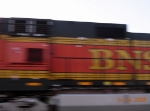 BNSF GE CW44-9 4375 Screams a Northbound NS Autorack/Intermodal train