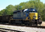 CSX GM/EMD SD40-2 8040 in the CSX Yard near the old GA RR Passenger Station
