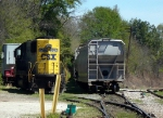 CSX GM/EMD SD50 8582 in the CSX Yard near the old GA RR Passenger Station