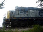 Power for CSX's Tucker Local, a GM/EMD GP40-2 in CSX's YN1 Paint and a GM/EMD GP35 Road Slug in CSX's YN2 Paint
