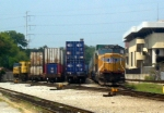 UP GM/EMD SD70M 4931 Idles at CSXs Hulsey Intermodal Yard in the Hulsey/Decatur Area of Dekalb County/Atlanta,GA