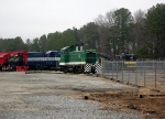 SOU GM/EMD SW7 8202 and GA GM/EMD GP7 1026 Idle in the Museum Yard at the Southeastern Railroad Museum