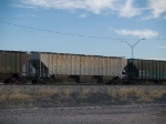 CTRN 100564 on a stopped WB grain train at 7:01am