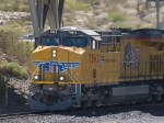 UP 7862 leads a WB doublestack IEWLB Englewood - Long Beach - at 10:59pm