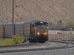 UP 4115 leads a WB autorack AAMLB-20 (Amarillo - Long Beach) at 12:07pm