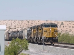 UP 9555 leads an EB manifest MTUFW Tucson - Ft Worth at 12:10pm