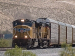 UP 4787 leads a WB autorack/doublestack at 1:11pm