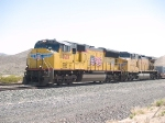 UP 5210 leads a WB doublestack at 11:48am 