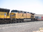 UP 9705 #2 power in a WB doublestack at 11:48am