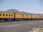 UPP 5779 Promontory baggage car in a WB special at 12:18pm