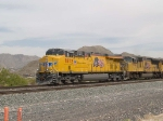 UP 7872 leads a WB doublestack at 2:29pm