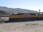 UP 4809 leads a WB manifest MEWTU - Englewood - Tucson - at 9:33am 