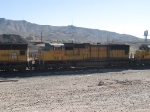 UP 4443 #2 power in a WB manifest MEWTU - Englewood - Tucson - at 9:33am 