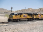 UP 5207 leads a WB manifest MFWWC Ft Worth - West Colton at 1:41pm