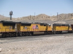 UP 4906 #2 power in a WB manifest MFWWC Ft Worth - West Colton at 1:41pm