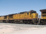 UP 9152 #2 power in an EB manifest MTUFW Tucson - Ft Worth at 1:10pm