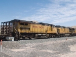 UP 9724 #4 power in an EB manifest MTUFW Tucson - Ft Worth at 1:10pm
