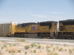 UP 5182 #2 power in an EB doublestack at 11:54am