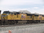 UP 5212 #2 power in a WB doublestack at 12:20pm