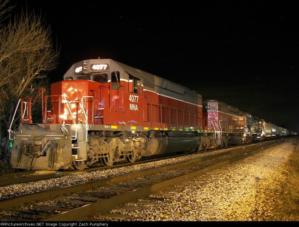 Tied Down Southbound MNA Manifest
