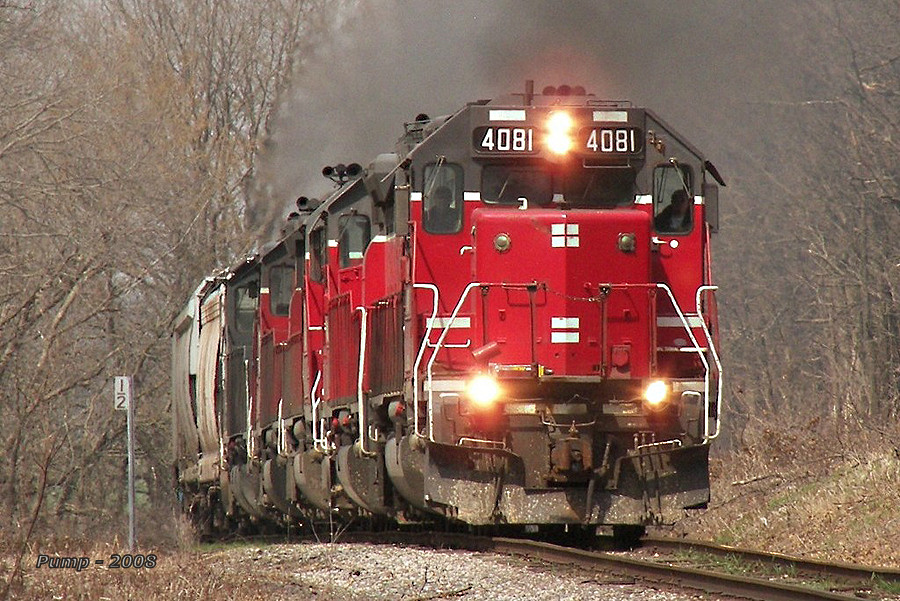 Southbound MNA Manifest Train