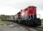Parked MRIX Locomotives