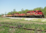 Southbound ISRR Loaded Coal Train