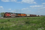Empty BNSF Grain Train