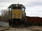 LSRC GP40M-3 1174 in the yard