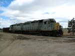 GP40M-3s 1174 and 1178 under the rolling sky