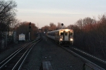 NJT 6033 leading an early morning EB