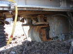 BNSF 5942 damaged undercarriage