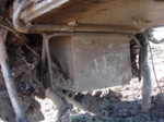 BNSF 5942 undercarriage damage
