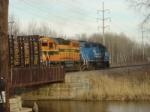 ELS 400 & 402 crossing Duck Creek bridge
