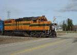 ELS 400 crossing County Highway E