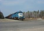 ELS 501 departs southbound
