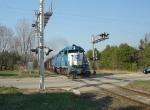 ELS 501 splits the County Highway S crossing signals