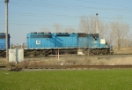 ELS 501 rolling into the CN yard